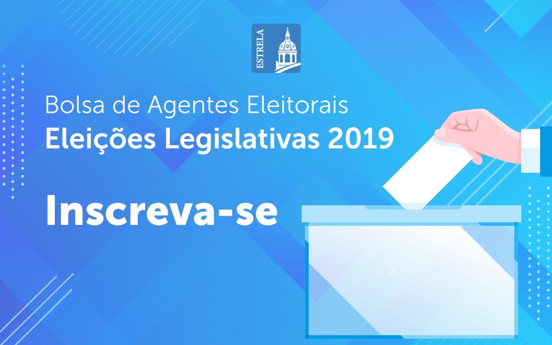 Bolsa de Agentes Eleitorais – Eleições Legislativas 2019