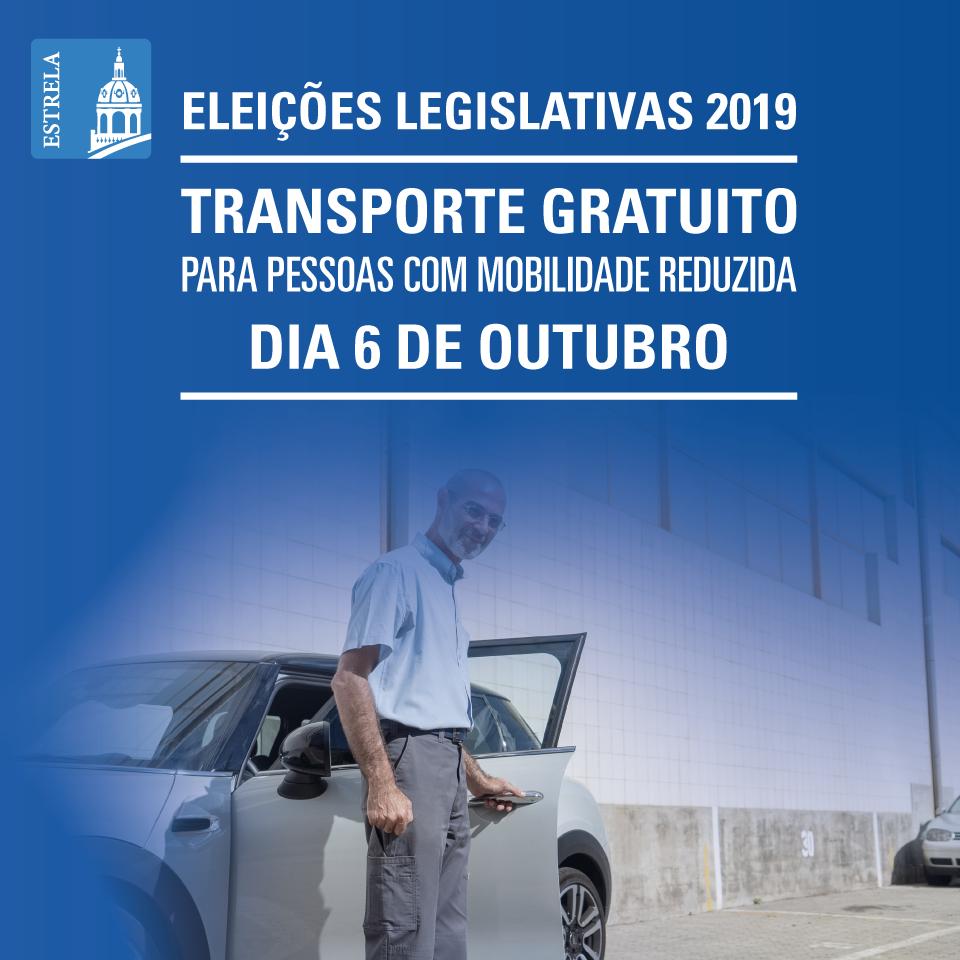 Transporte especial de eleitores para as Assembleias e Seções de Voto - ELEIÇÕES LEGISLATIVAS 2019