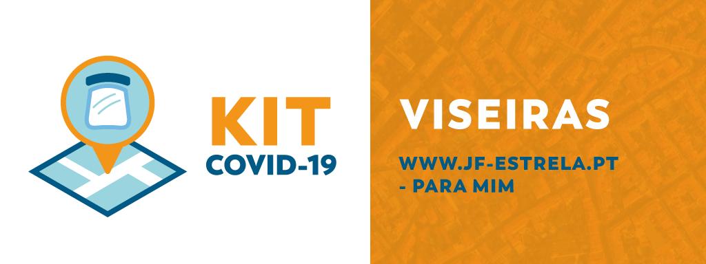 JFE disponibiliza kits com viseiras ao comércio local