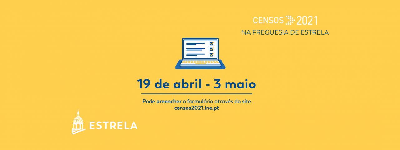Apoio no preenchimento dos Censos 2021 na Estrela
