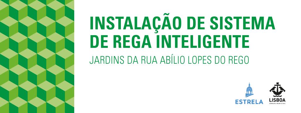 Sistema de rega inteligente nos jardins da Rua Abílio Lopes do Rego