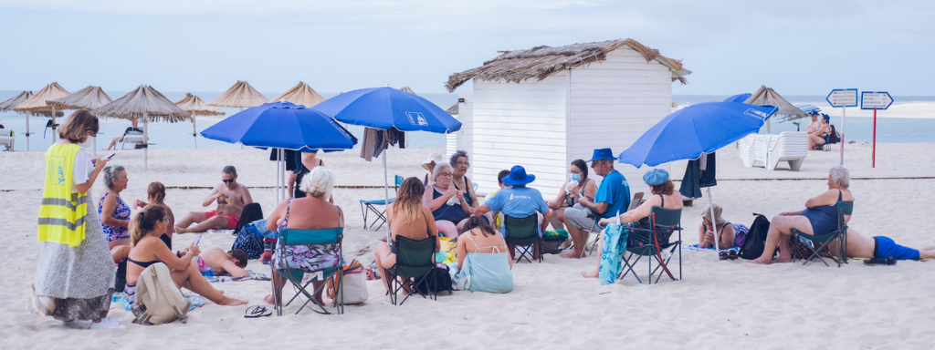 Praia Estrela Sénior, uma semana de sol e convívio